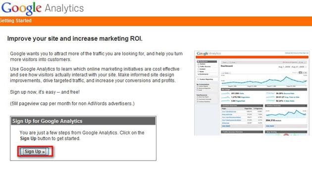 Hướng dẫn cài Google Analytic cho website của bạn