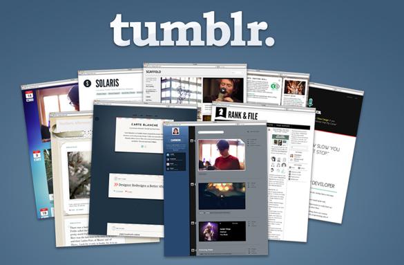 Hướng dẫn tạo blog với Tumblr