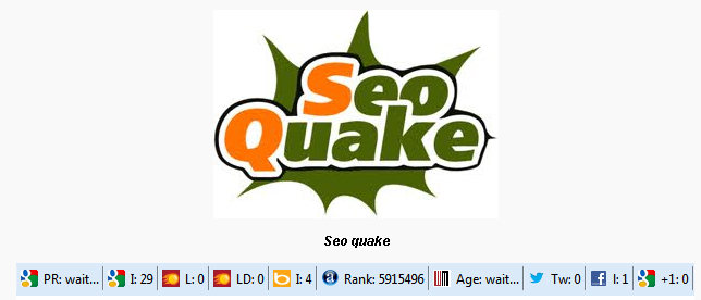 Seo Quake là gì, hướng dẫn sử dụng Seo Quake